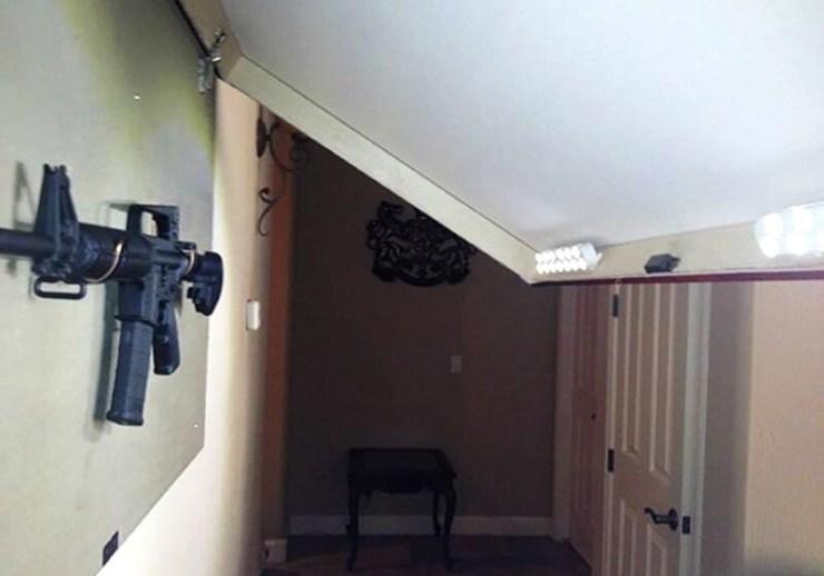 Set The Rifle | gun storage ideas