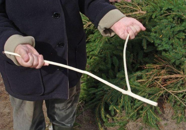 underground water stream dowsing | dowsing rods