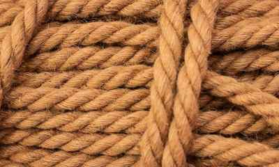 Rough Cord made from natural plant fiber | How to Make Your Own Coconut Rope | Featured