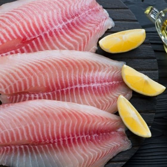 Raw fresh tilapia fillets with seasonings| How To Fillet A Fish | Ways To Fillet Different Types Of Fish | Featured