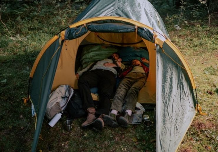 Nature man holiday vacation | Tips to Help You Camp in the Rain