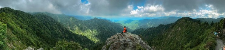Views from hikes in Great Smokey National Park-best hiking trails