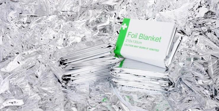 emergency-foil-space-blankets-background-prepper
