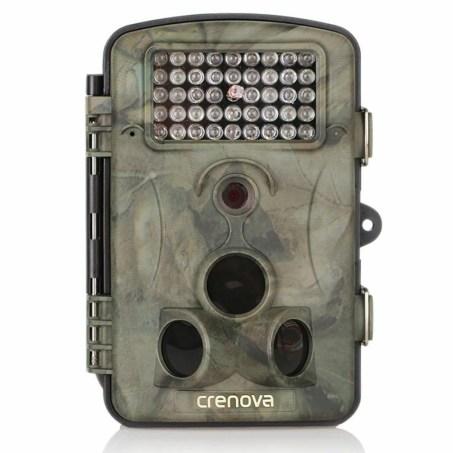 Crenova 12MP 1080P HD Wild Überwachungskamera 120 grad weitwinkel