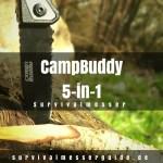 CampBuddy 5-in-1 Survival Messer im Test - Praktisch, aber mit Abstrichen