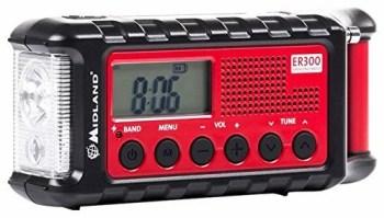 Midland ER300 Handkurbel Surival Outdoor-Radio