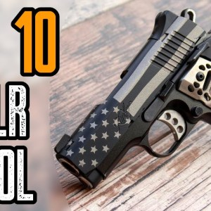 Top 10 Best 22 Pistols For Self Defense, Concealed Carry and Target Shooting