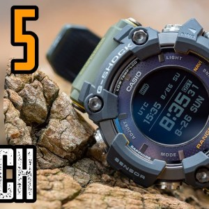TOP 3 RUGGED GPS WATCH FOR RUNNING & HIKING