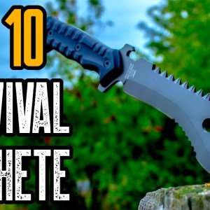Top 10 Best Machetes for Survival and Self Defense 2021