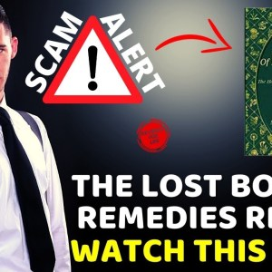 The Lost Book of Remedies Review ❌BEWARE⚠️ Is The Lost Book of Herbal Remedies Legit or a SCAM?⚠️