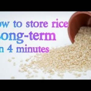 Rice How To Store It How and Why I do it this way? #SHORTS