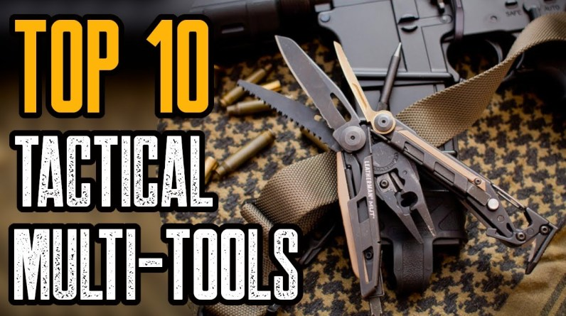Top 10 Best Tactical & Military Multi Tools 2021