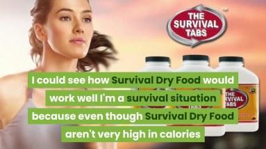 Survival Dry Food for Disaster Preparedness for Earthquake Flood 25 Years Shelf Life