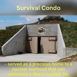 Survival Shelter Bunker