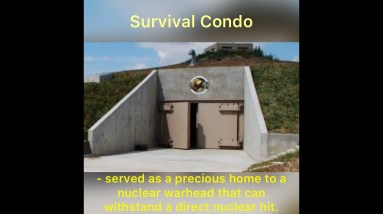 Survival Shelter Bunker