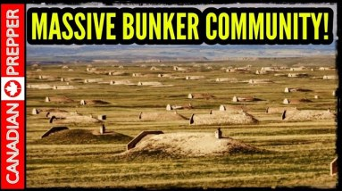 The Largest Doomsday Bunker Community on Earth!