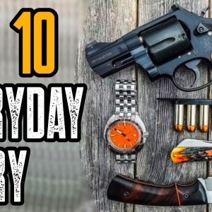 Top 10 Coolest EDC Everyday Carry Gadgets ALL Men Should Own!