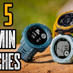 Top 5 Best Garmin Watches 2021 (for Running, Hiking & Biking)