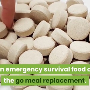 Survival Dry Food 8-Day Food Supply Disaster  Gluten Free and Non-GMO 25 Years Shelf-Life