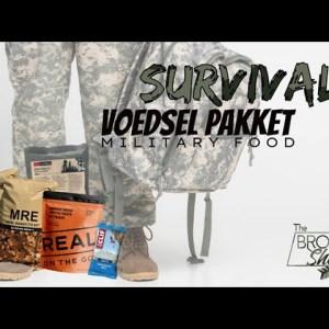 MILITARY/SURVIVAL FOOD UITPROBEREN!!
