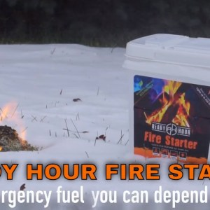 Ready Hour Fire Starter from My Patriot Supply - 2 gallon bucket!