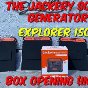 The Jackery Solar Generator (Explorer 1500) Box Opening