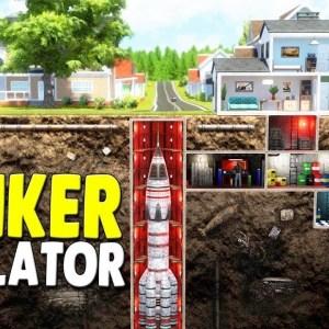 NEW Building Apocalypse Survival Bunkers Under My House | Mr. Prepper Bunker Builder Tycoon Gameplay