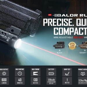 OLight Baldr RL Mini Review & First Impressions