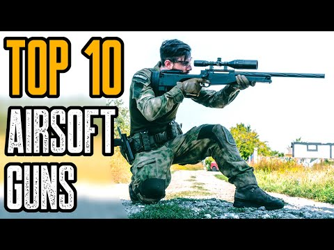 TOP 10 BEST AIRSOFT GUNS 2021 YOU MUST HAVE