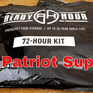 My Patriot Supply Survival Food Review