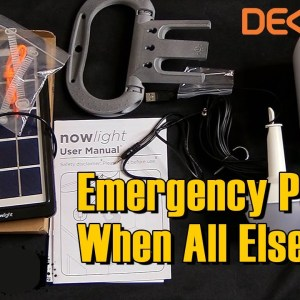 The NowLight by Deciwatt Review - Emergency Power When All Else Fails