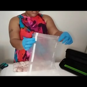 Food Prepping| Sealing meats for freezer