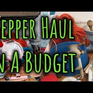 Prepper Haul On A Budget/non food prepping items/prepping for survival