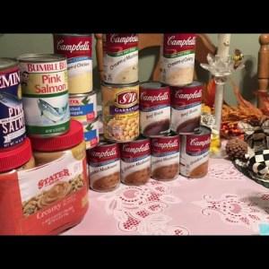 Prepping Pantry /Emergency Food/Grandma Sandy