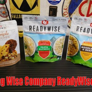 Survival Food: Testing Wise Company ReadyWise Meals!