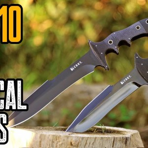 TOP 10 BEST TACTICAL COMBAT KNIVES ON AMAZON (CRKT KNIVES)