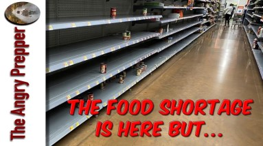 The Food Shortage Is Here But...