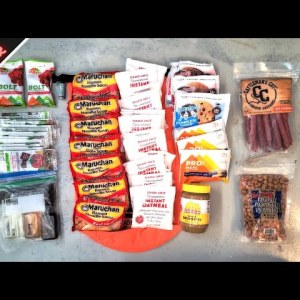 Best Survival Food For Bug Out Bag (7+ Days, 16,920 calories)