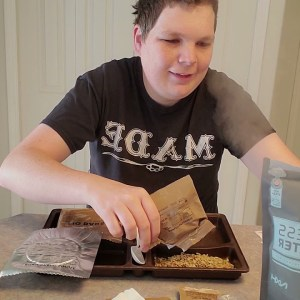 MRE ¨meal ready to eat¨ review