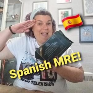 Spanish military MRE taste test!