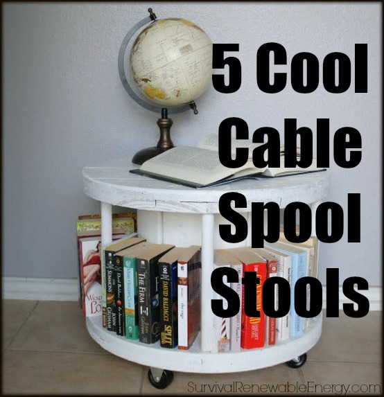 5 Cool Cable Spool Stools