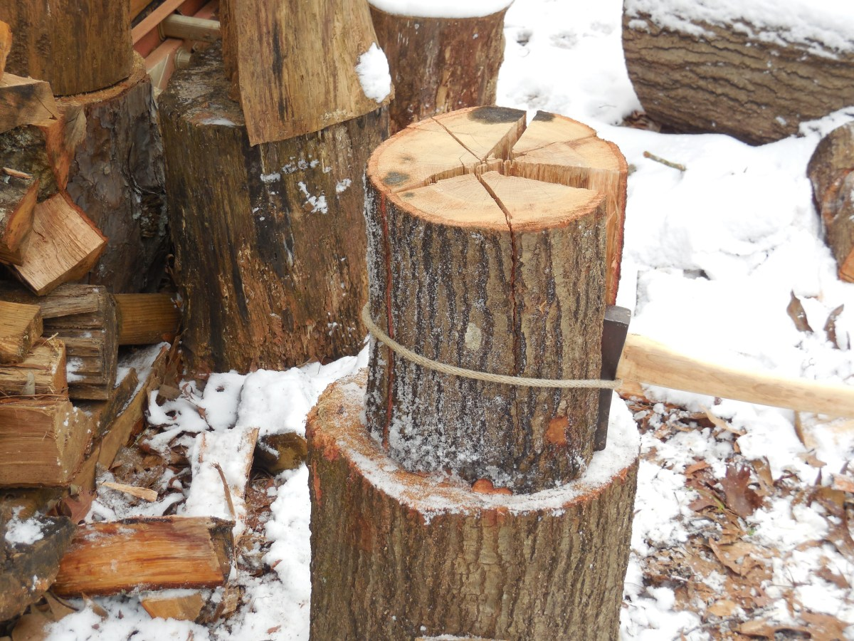 Sharp Sherpa Tip Processing Wood Safely With Your Ax Survival Sherpa