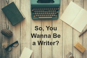 Wanna be a writer cover
