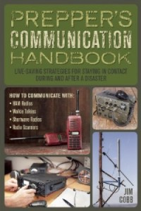 Prepper's Communication Handbook cover from site