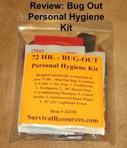 BOB Hygiene Kit cover
