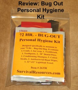 BOB Hygiene Kit cover