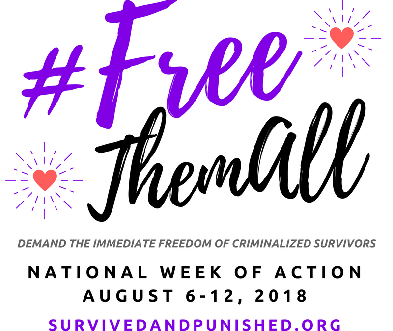 Aug 6-12: #FreeThemAll National Week of Action