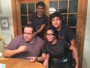 family, strong family, stroke support,