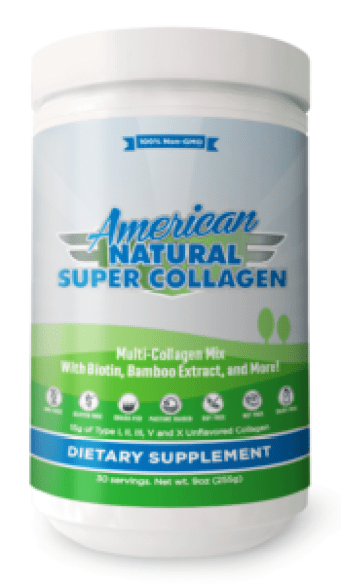 American Natural Super Collagen scam