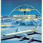 Vintage Jet Age Poster LAX